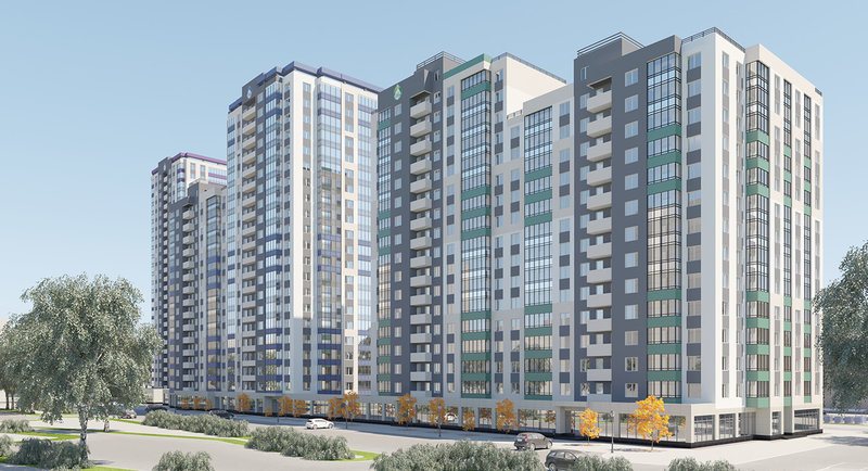 Застройщик «Ривьера Инвест Екатеринбург» объявляет акцию на покупку готовых квартир в сданном «Изумрудном» доме